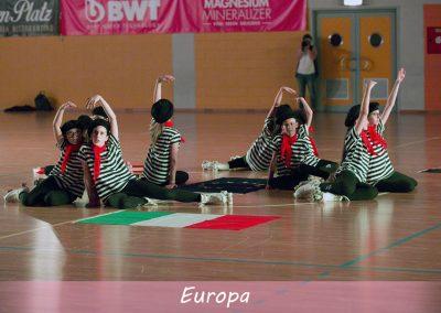 saggio giugno 2017 europa pattinaggio artistico 4 rotelle cittadella
