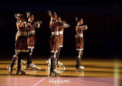 saggio giugno 2018 Hanami pattinaggio artistico 4 rotelle cittadella